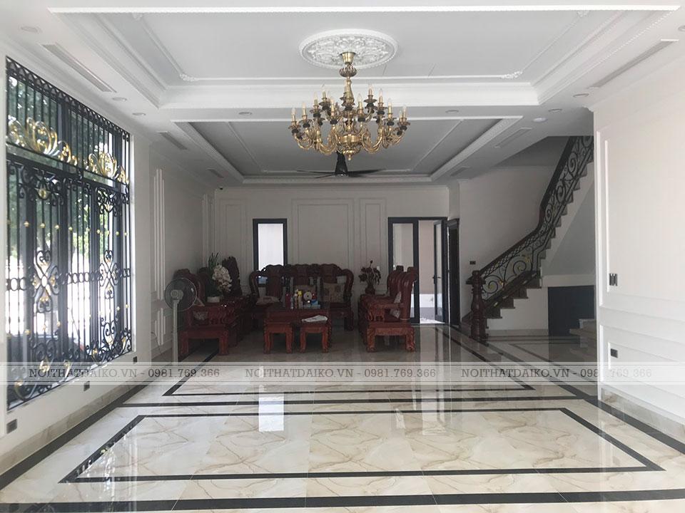 Không gian phòng khách, bàn tiếp khách 1