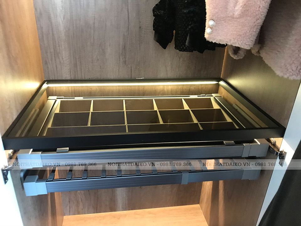 Ngăn kéo để đồ trong tủ quần áo