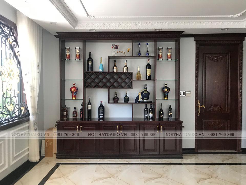 Tủ rượu phòng khách