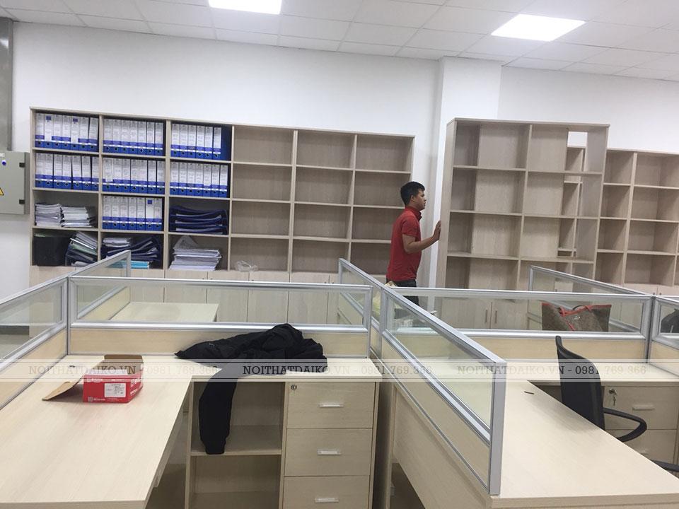 Tủ văn phòng nhân viên